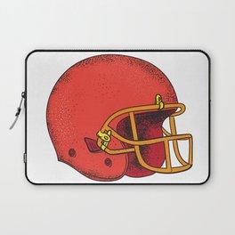 American Football Helmet  Tattoo Laptop Sleeve