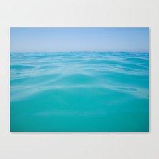 NEVER ENDING OCEAN Canvas Print