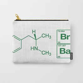 Breaking Bad Methamphetamine White Carry-All Pouch