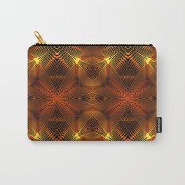 Golden Thread Carry-All Pouch
