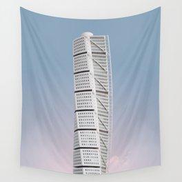 Turning Torso | Santiago Calatrava | #architecture #calatrava Wall Tapestry