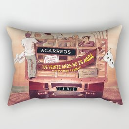La Vie Rectangular Pillow