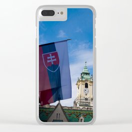 Old Town Hall Clear iPhone Case