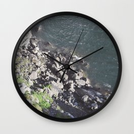 Rocky Riverbed Wall Clock
