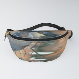 Black-crowned Night Heron Fanny Pack
