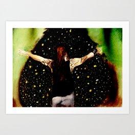 Bray Wyatt and his fireflies Art Print