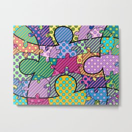 Very Puzzled 1 Metal Print