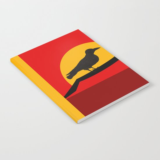 Every bird sings from his own throat Notebook