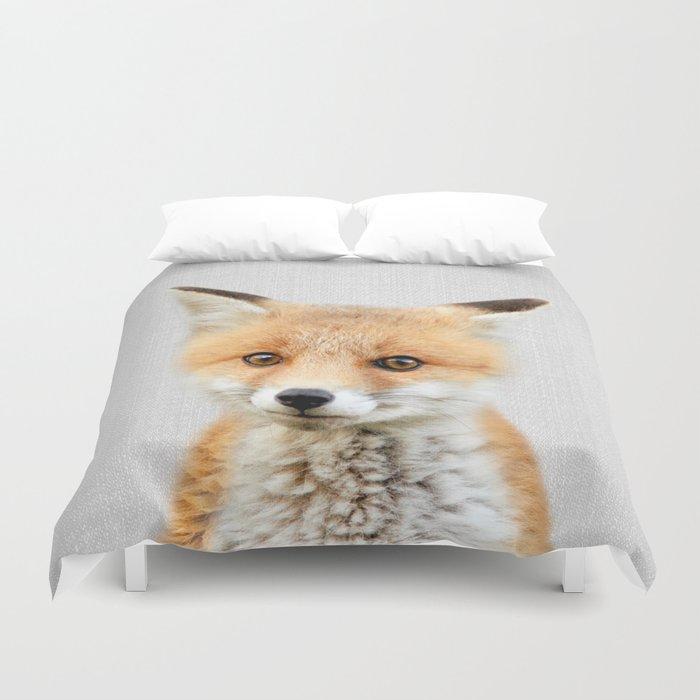 Baby Fox - Colorful Bettbezug