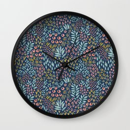 Jungle Garden Wall Clock