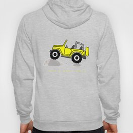 That's how I roll - Yellow Jeep Hoody