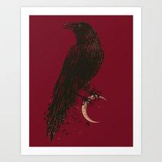 DARK SIDES Art Print