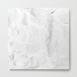 Paper Trash 1 Metal Print
