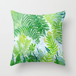 Spring series no. 5 Throw Pillow