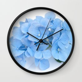 Blue Hydrangeas #1 #decor #art #society6 Wall Clock