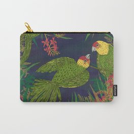 Parakeet Paradise Carry-All Pouch