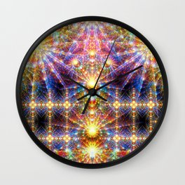 Cosmic Sunrise Wall Clock