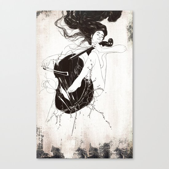 Duet. Pt.3 Canvas Print