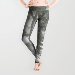 Forest Illustration Leggings