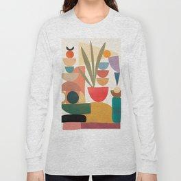 Modern Abstract Art 74 Long Sleeve T-shirt