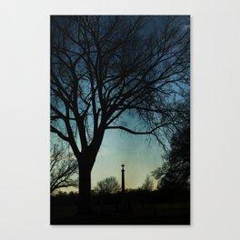 Eternal Silhouette Canvas Print