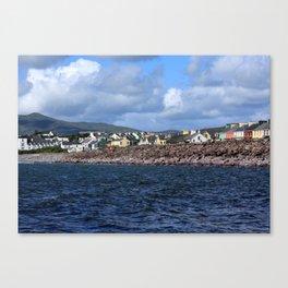 Irish Seaside Village, Co Kerry, Ireland Canvas Print