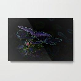 Gothic Strawberry Metal Print