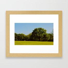 Contemplating Framed Art Print