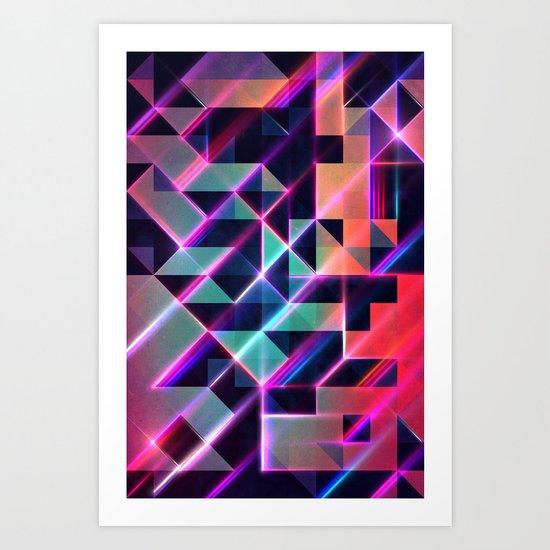 lysyr 8 Art Print