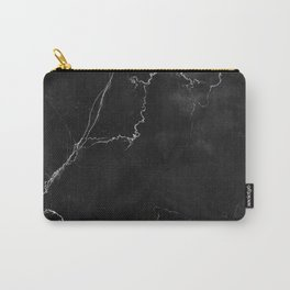 MARBLE & PALE DOGWOOD STRIPES Carry-All Pouch