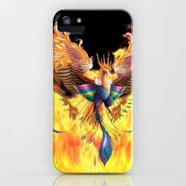 Flames of Life iPhone Case