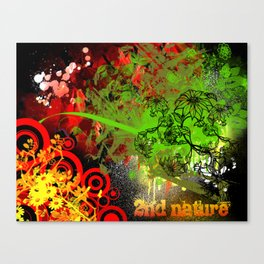2nd Nature Canvas Print