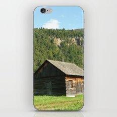 Woodcabin iPhone & iPod Skin