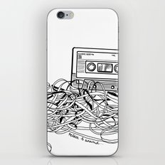 Relax & Unwind on white iPhone & iPod Skin