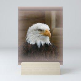 Eagle's sharp eye Mini Art Print