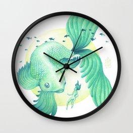 Big Fish Wall Clock
