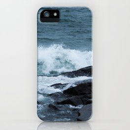 Great Lake Waves iPhone Case
