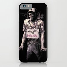 Will Work For Braaains iPhone 6s Slim Case