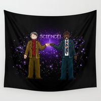 sagan Wall Tapestries featuring Ode to The Cosmos by Taylor Rose