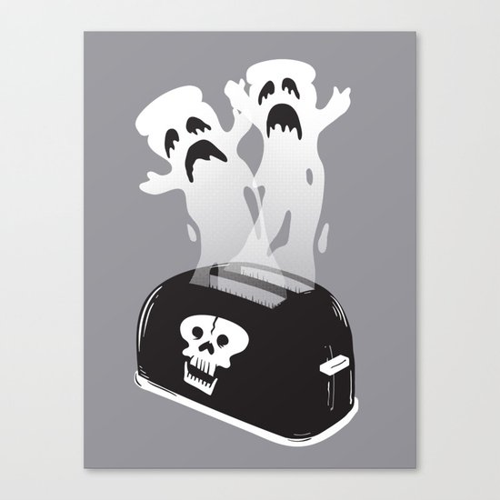 Ghost Toast Canvas Print