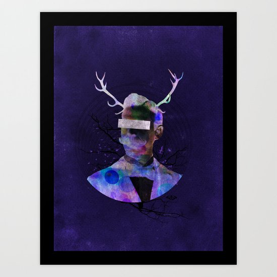 We are all flesh and bone Art Print