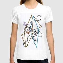 12,000pixel-500dpi - Sophie Taeuber-Arp - Octahedron-ss - Digital Remastered Edition T-shirt