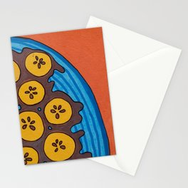 fried plantains Stationery Cards