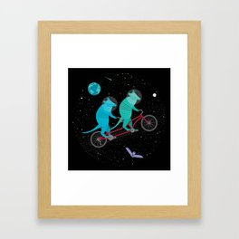 Space Ride Framed Art Print