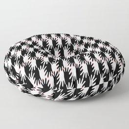LOVERS HANDS / pattern pattern Floor Pillow