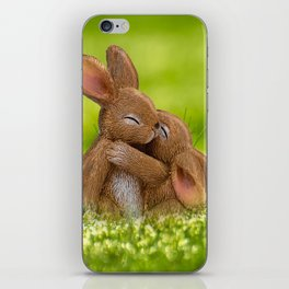 Easter Bonny | Lapin de Pâques iPhone Skin