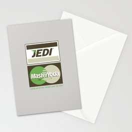 Brand Wars: Jedi Master Yoda Stationery Cards
