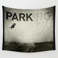 banksy Wall Tapestries featuring Banksy Tag by Adam Reynolds