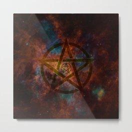 Pentagram Metal Print