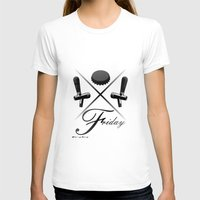 friday T-shirts featuring Friday by visionalfreeman